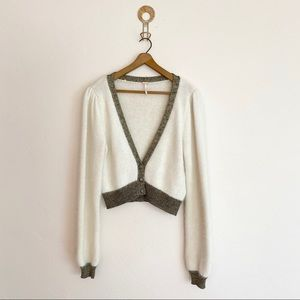 Free People Crop Sweater